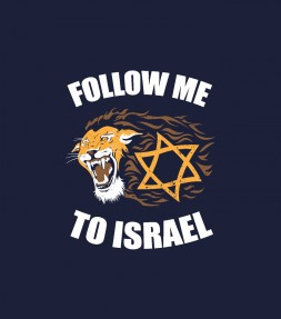 Follow Me To Israel - Lion of Judah Shirt