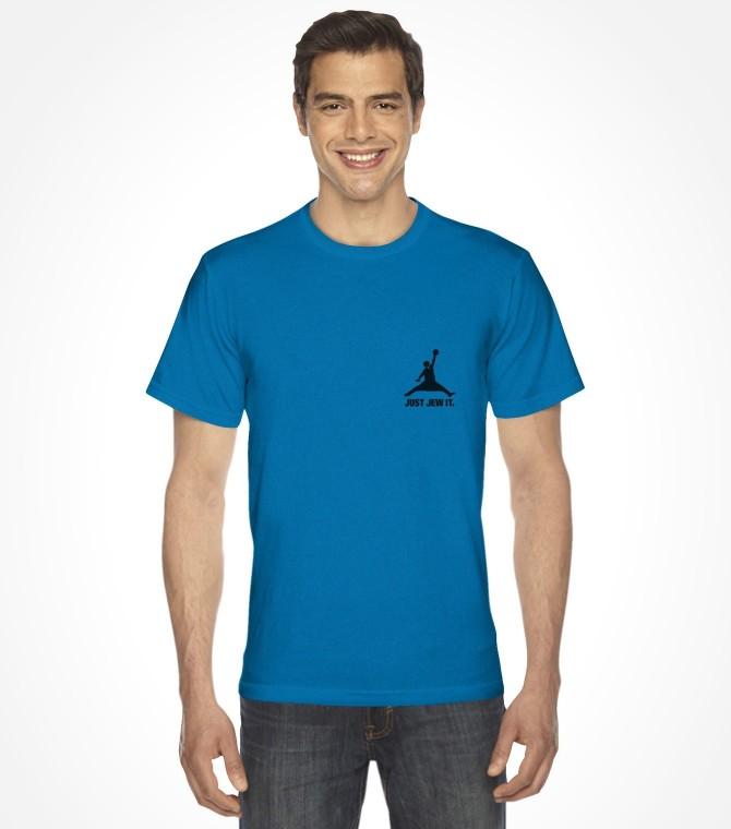 Just Jew It Jewish Crest Design Shirt