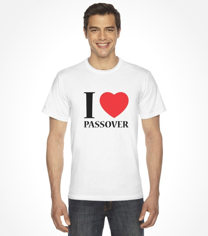I Love Passover Jewish Holiday Shirt