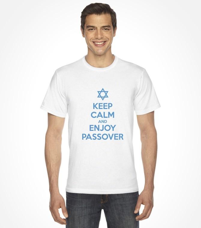 Keep Calm and Enjoy Passover Funny Jewish Shirt