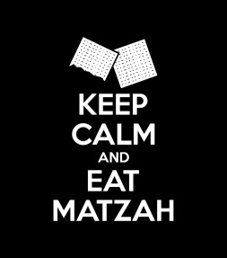 Keep Calm and Eat Matzah Funny Jewish Passover Shirt