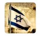 Jerusalem Western Wall Israel Flag Magnet