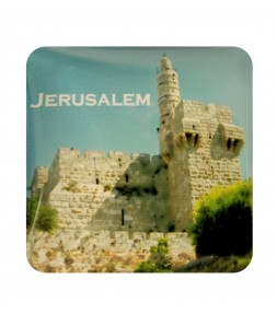Jerusalem Tower of David Holy Land Magnet