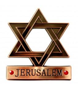 Star of David Jerusalem Magnet