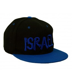 Israel Blue Snapback Rappers Cap
