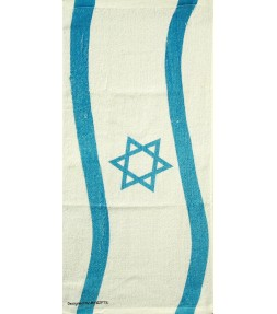 Flag of Israel Design Kitchen Hand Towel