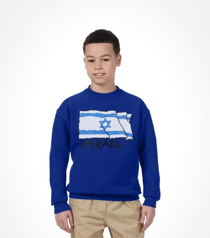Flying Flag of Israel Shirt