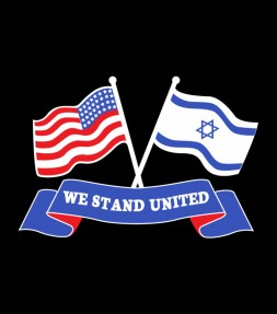 We Stand United - America and Israel Support Shirt