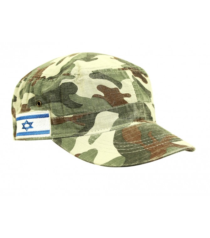 Israel Flag Camouflage Cap