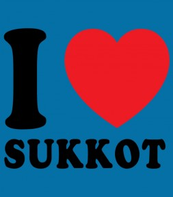 I Love Sukkot Jewish Holiday Shirt
