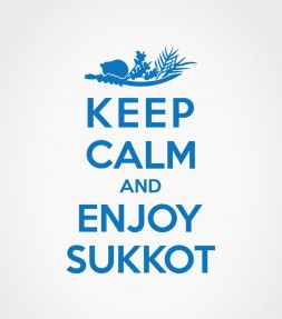 Keep Calm and Enjoy Sukkot Funny Jewish Holiday Shirt