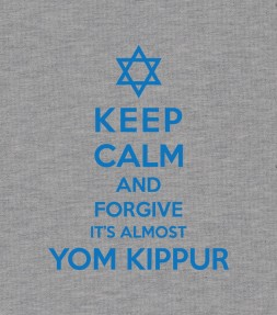 Keep Calm and Forgive, It's Almost Yom Kippur Jewish Shirt