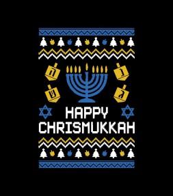 Happy Chrismukkah - Xmas Hanukkah