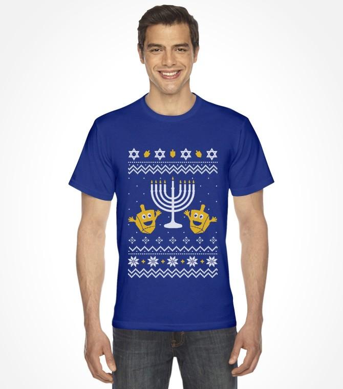 Ugly Christmas Hanukkah Sweater