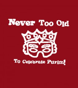 Never Too Old to Celebrate Purim