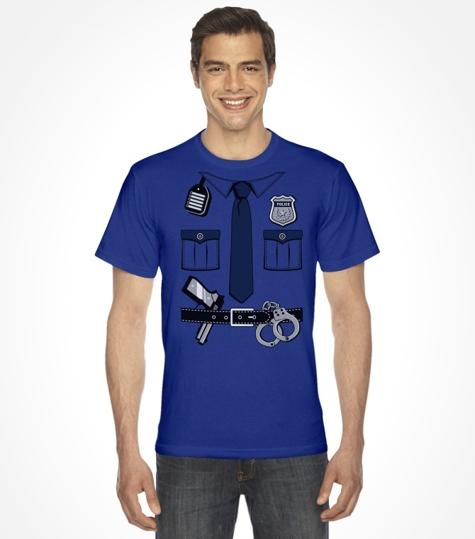 Police Cop Uniform Easy Purim Costume