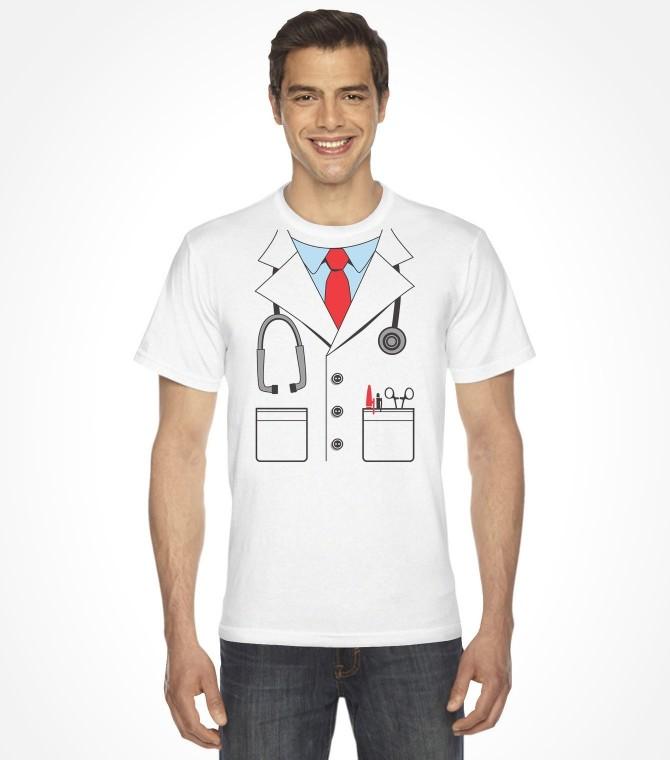 Men's Doctor Easy Purim Costume