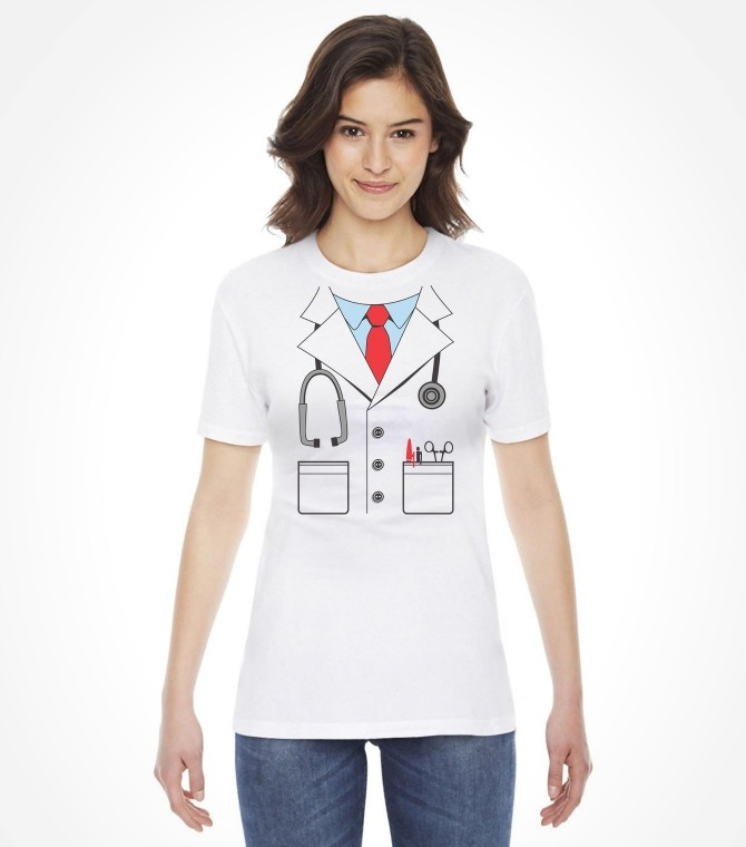 Women & Youth Easy Doctor Purim Costume