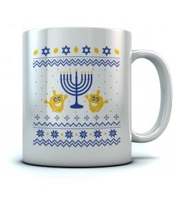 ugly Hanukkah Holiday Gift Mug
