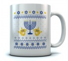 ugly Hanukkah Holiday Gift Mug