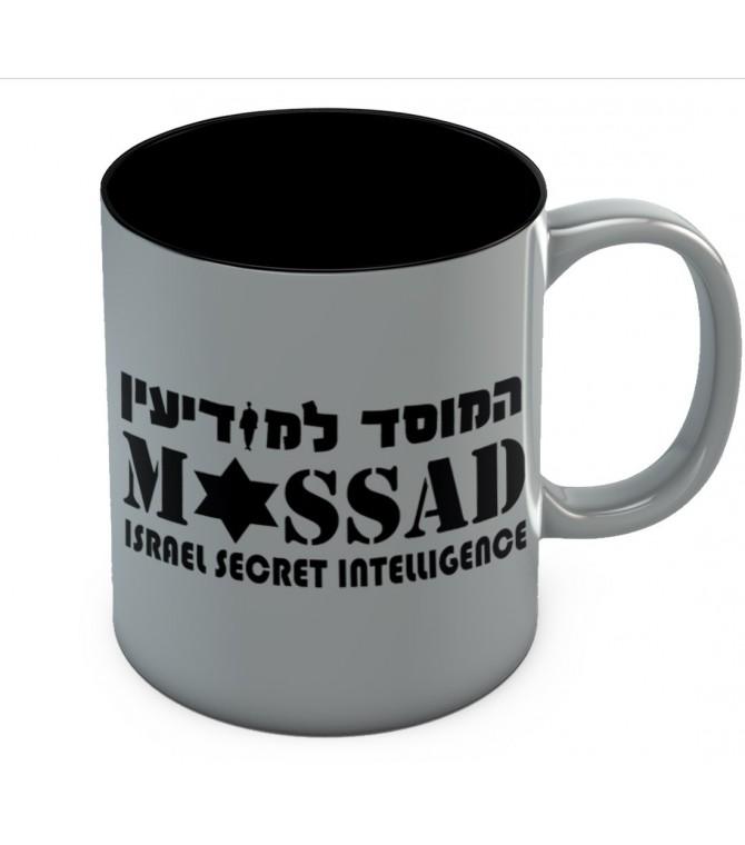 Mossad Israel Secret Intelligence Coffee Mug