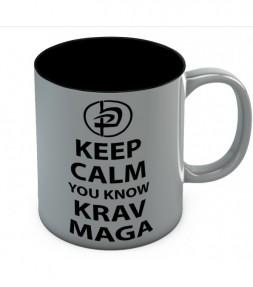 Keep Calm You Know Krav Maga Mug