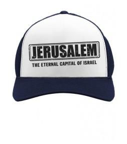 Jerusalem -The Eternal Capital of Israel Cap