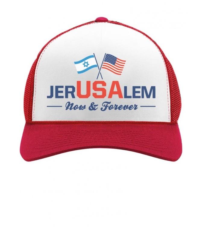 Jerusalem Now & Forever Trump Jerusalem Declaration Cap