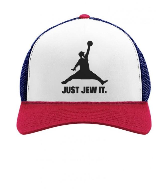 Just Jew It. Funny Jewish Israel Cap
