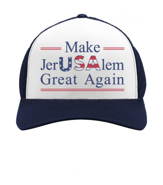 Make Jerusalem Great Again Trump Declaration Cap