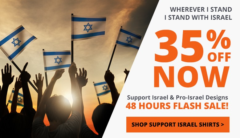 Wherever I Stand, I Stand with Israel!