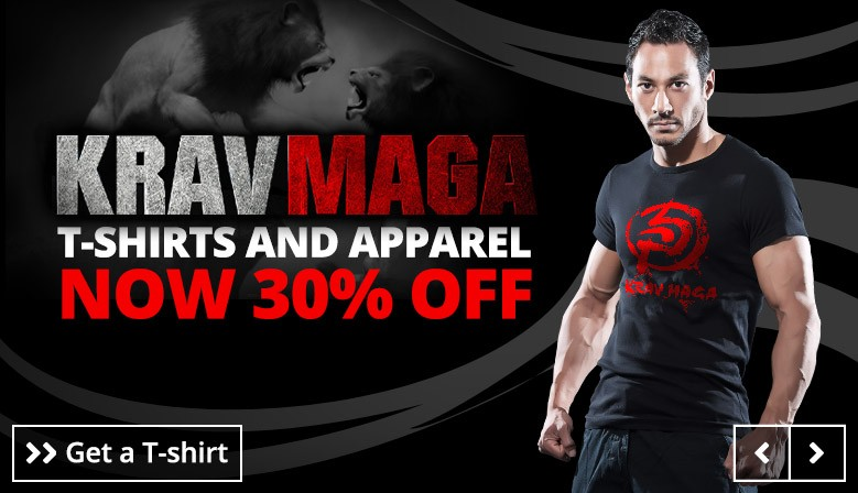 Krav Maga Shirts - NOW 30% OFF for 48 HRS ONLY!