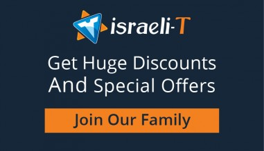 Join Israeli-T family and subscribe to our newsletter